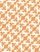 "Flourish Ornament Pattern in Fall Colors, 10-Pack (8.5"" x 11"")"