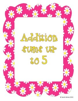 Flower Addition Sums to 5