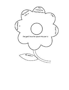 Flower Bulletin Board Template