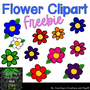 Flower Clipart Freebie Personal and Commercial