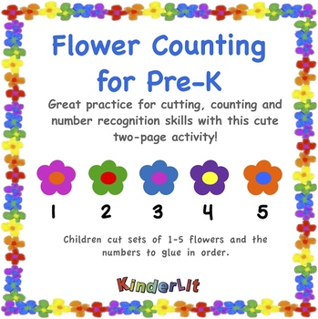 Flower Counting For Pre-K
