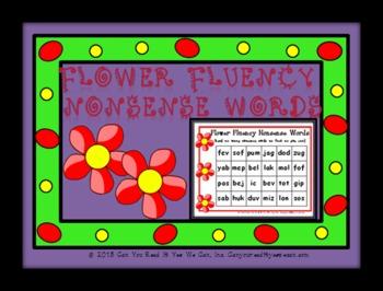 Flower Fluency: Nonsense Word Center