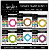 Flower Frames Bundle {Graphics for Commercial Use}