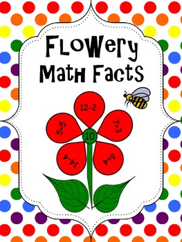 Flower Friends Math Facts
