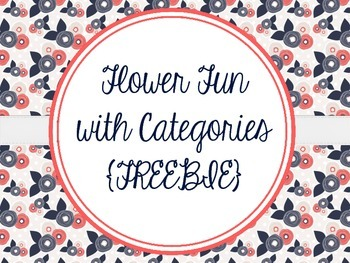 Flower Fun with Categories