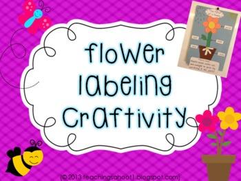 Flower Labeling Craftivity