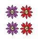 Flower Number Matching Activities #0-100 for Preschool