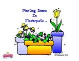 Jack & the Beanstalk Flower Pots :  Plants TK , K, 1st, or