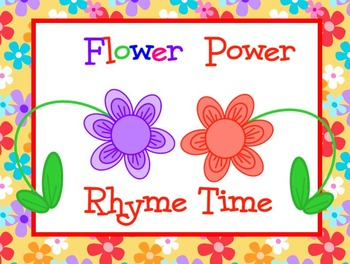 Flower Power Rhyme Time