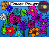 Flower Clipart {TeacherToTeacher Clipart}
