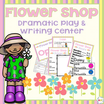 Flower Shop Dramatic Play and Writing Center