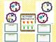 Flower Themed Glitter Classroom Decor