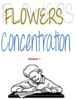 Flowers Concentration Volume 1