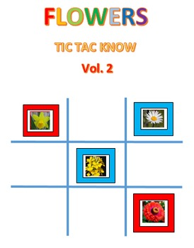 Flowers Easy #2 Tic Tac Know