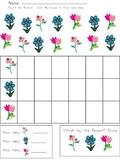 Flowers Graphing Practice Sheet