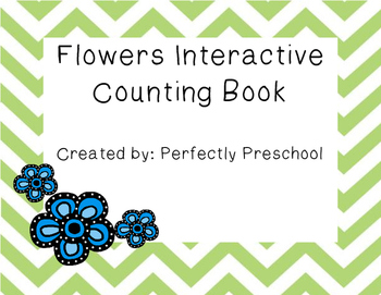 Flowers Interactive Counting Book
