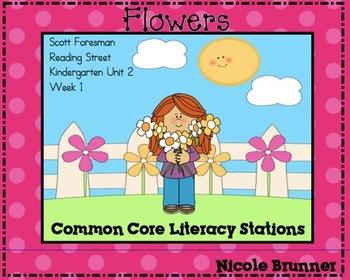 Flowers Reading Street Unit 2 Week 1 Common Core Literacy