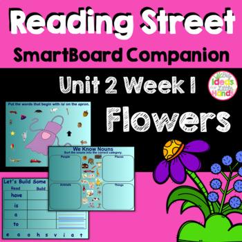Flowers SmartBoard Companion Kindergarten