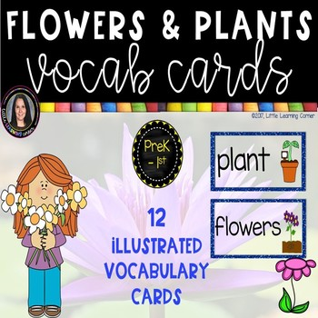 Flowers and Plants Vocabulary Cards