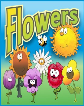 Flowers and assorted clip art for spring or summer related