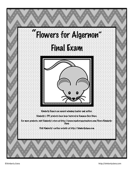 Flowers for Algernon Final Exam Test