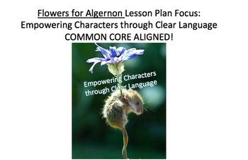 Flowers for Algernon Lesson Plan, Handouts, etc: Empowerin