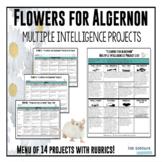"""Flowers for Algernon"" Multiple Intelligence Project List"