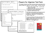 Flowers for Algernon Test Pack  -- Charly