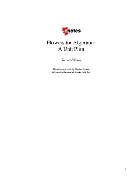 Flowers for Algernon Unit Lesson Plan