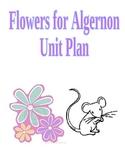 Flowers for Algernon Unit Plan (worksheets, activities, qu