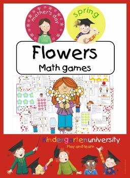 Flowers math center games