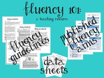 Fluency 101: A resource guide for Autism and Special Educa