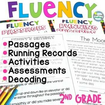 Reading Fluency 2nd Grade and 3rd Grade ~ Fluency Reading