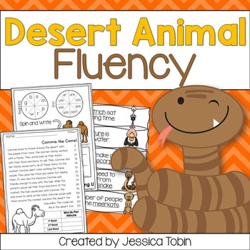 Fluency- Desert Animals