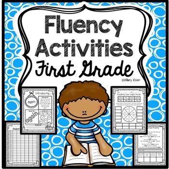 Fluency Activities (1st Grade-NO PREP!)