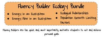 Fluency Builder: Ecology Bundle