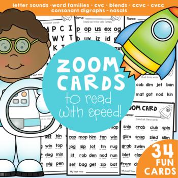 Fluency Cards - Fast Fluency Fun Reading Cards