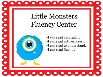 Fluency Center:  Little Monsters
