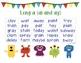 Fluency Charts Journeys Unit 3 Second Grade