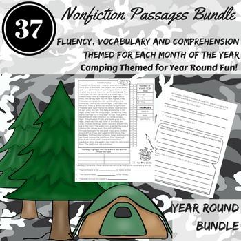 Fluency Passages Mega Bundle ~ August-June Fluency, Compre