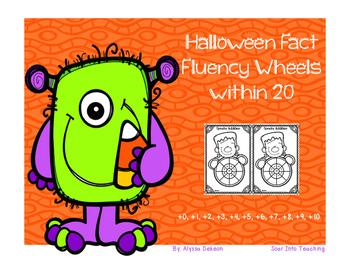 Fluency Fact Wheels within 20 {Halloween Themed}