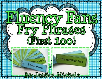 Fluency Fans: Fry Phrases {First 100}