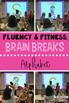 Reading Fluency & Fitness Brain Breaks Bundle (K-3)