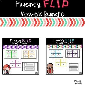 Fluency Flip Vowels Bundle
