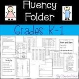 Fluency Folder (K-1)