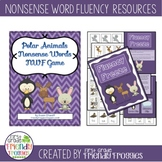 Nonsense Word Fluency -Fluency Freeze - NWF practice for D