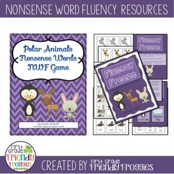 Nonsense Word Fluency -Fluency Freeze - NWF practice for D