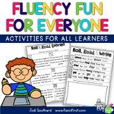 Fluency Fun for Everyone {Differentiated Roll, Read, & Wri
