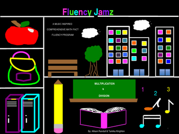 Fluency Jamz: 3-5 Basic Math Facts With Music!