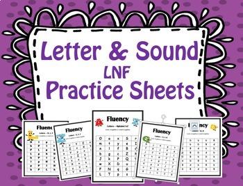 Letter Sound Practice Sheet (LNF)